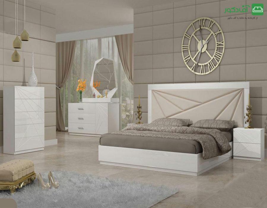 تخت خواب دو نفره لیانا