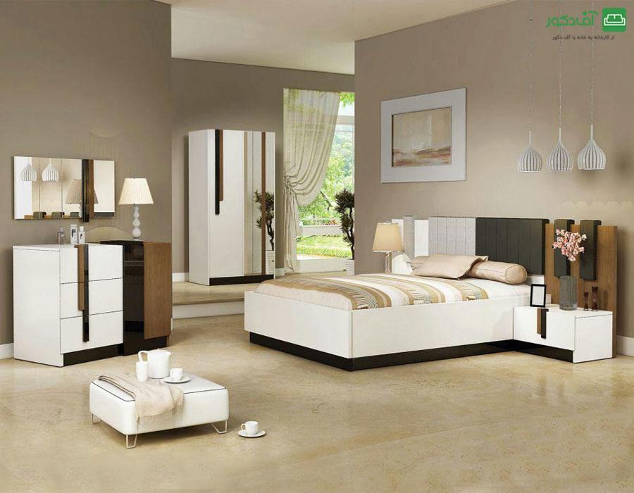 تخت خواب دو نفره میراندا