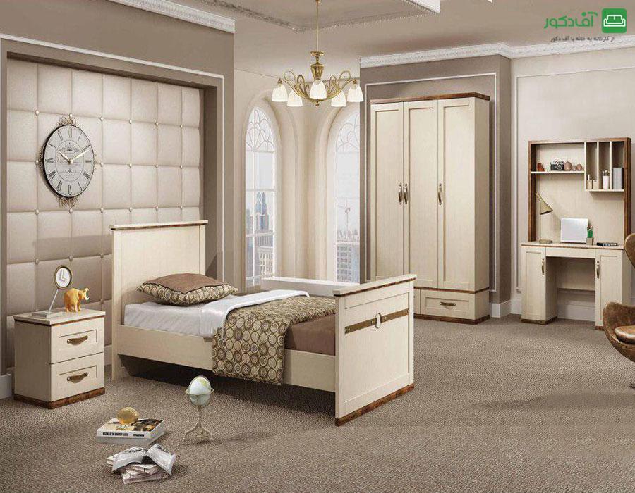 تخت خواب یک نفره سارکو