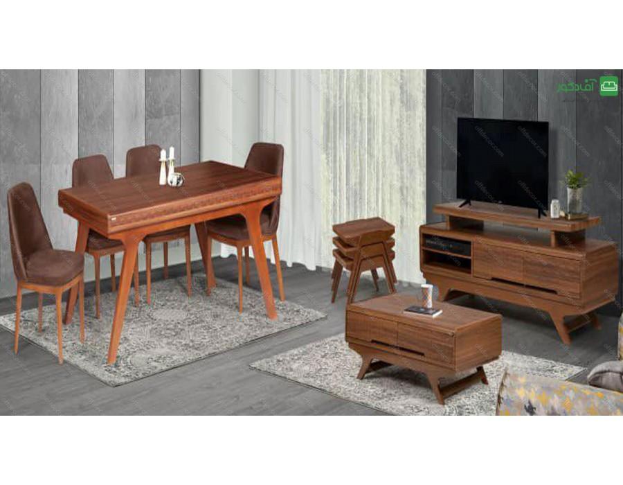 میز تلویزیون ماربلا