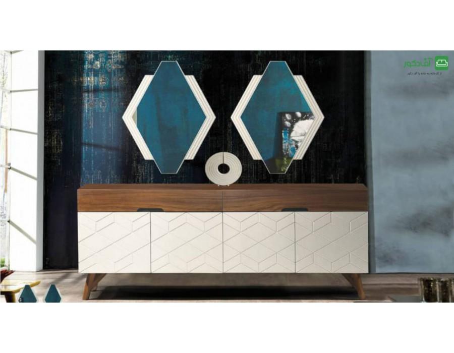 آینه و میز کنسول رامون