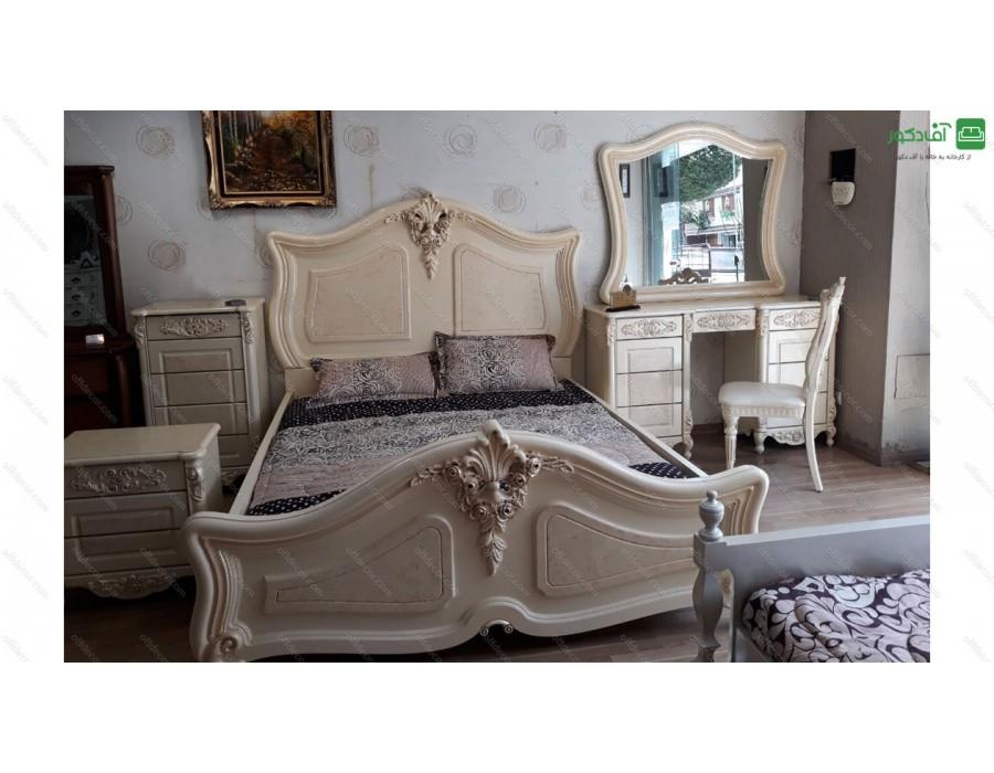 سرویس خواب دو نفره سلطنتی  گلایل