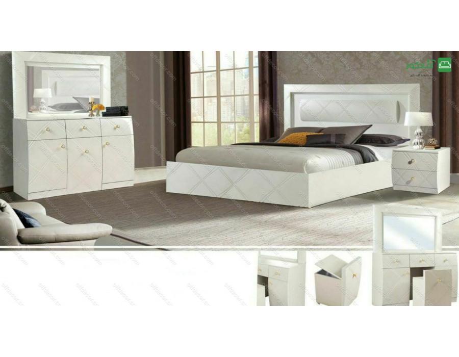 تخت خواب دو نفره شهزاد