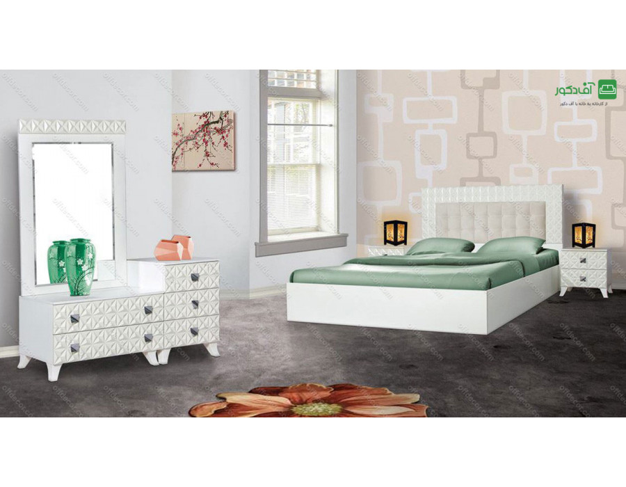 تخت خواب دو نفره ژینوس