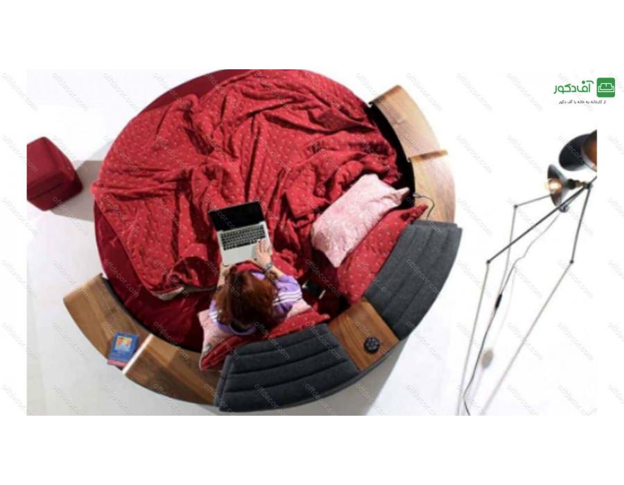 تخت خواب دو نفره هوشمند اسکارلو