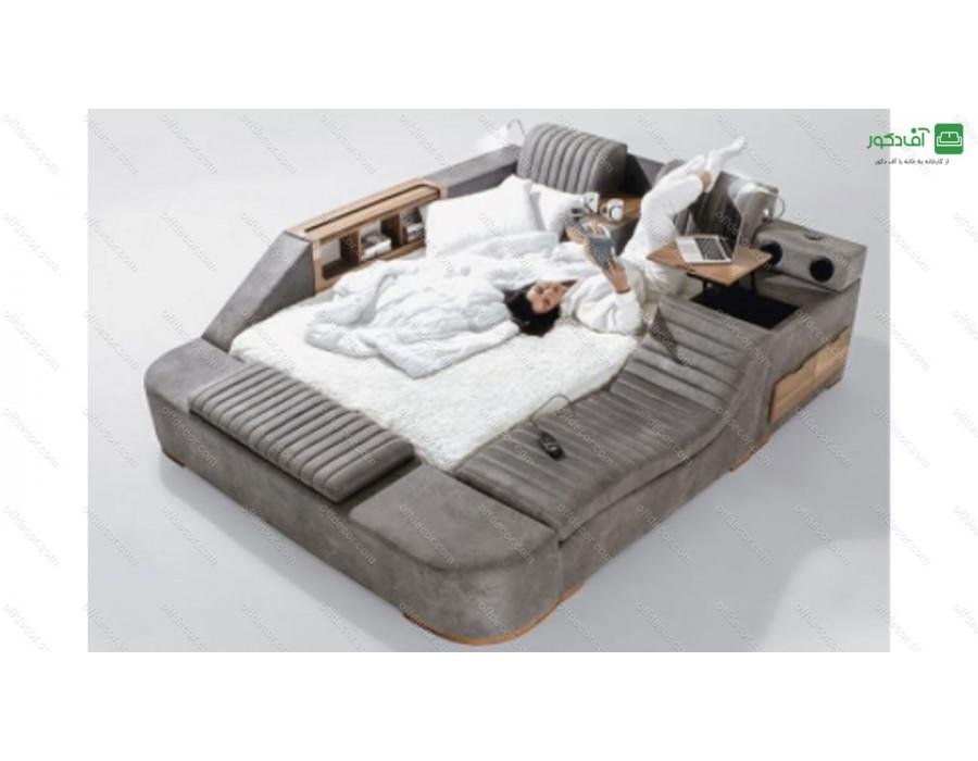 تخت خواب دو نفره هوشمند ماکیلا