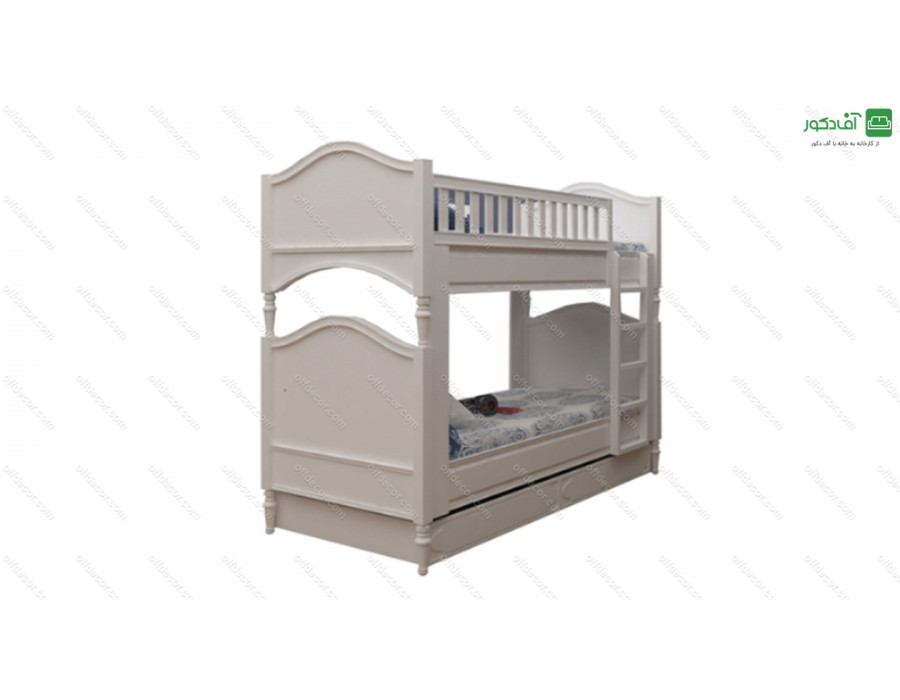 تخت خواب دو طبقه سالوینا