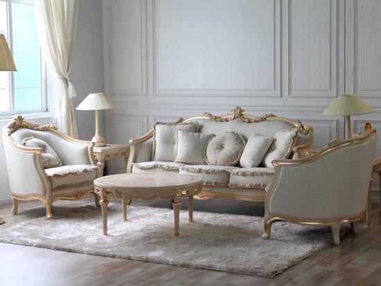 مبلمان سلطنتی طلایی و سفید