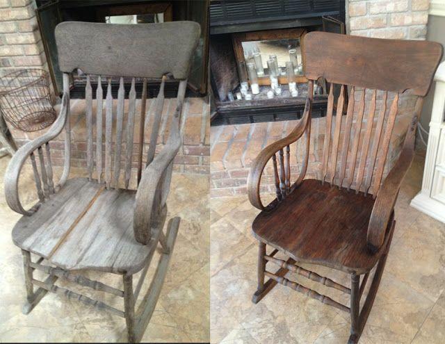 نو شدن صندلی چوبی راک گهواره ای