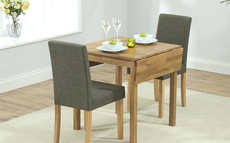 میز ناهار خوری تاشو چوبی آشپزخانه فلزی