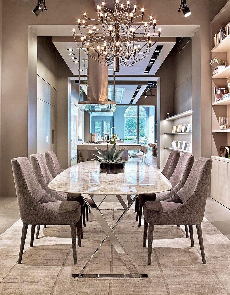 میز ناهار خوری فلزی استیل رویه شیشه ای صندلی با روکش پارچه ای توسی