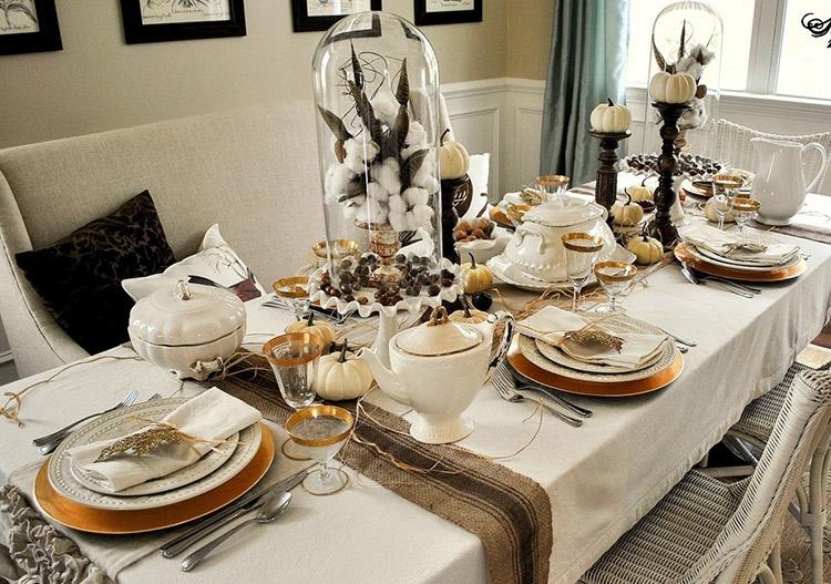 میز ناهار خوری چوبی آشپزخانه صندل یبا روکش پارچه ای سفید