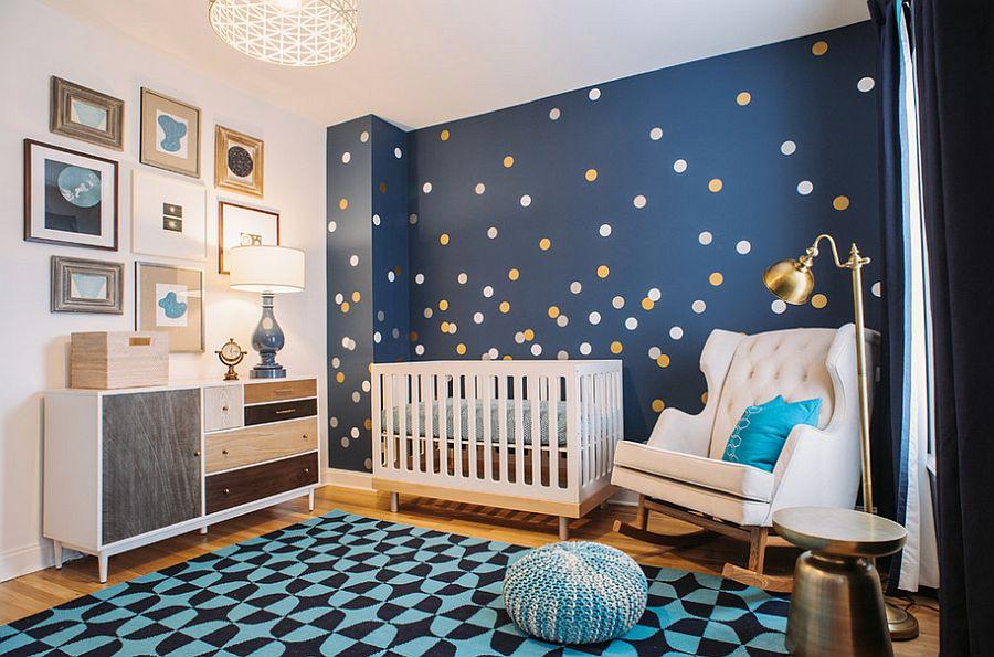 سرویس خواب نوزاد کودک آبی سفید دخترانه پسرانه گهواره
