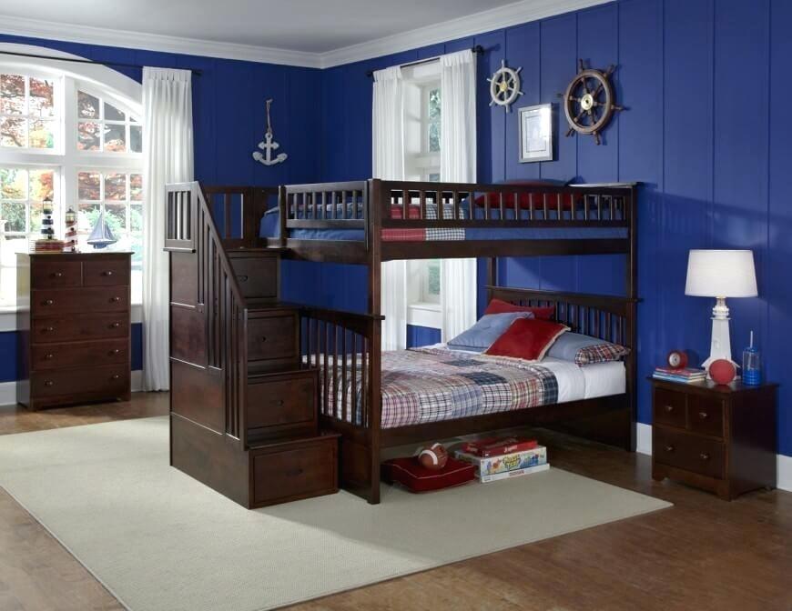سرویس خواب کودک نوجوان دو طبقه دخترانه پسرانه مشترک آب کلاسیک