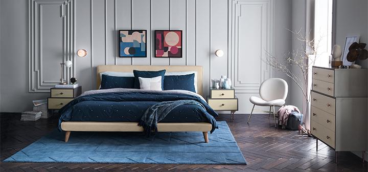 تابلوهای خاص برای تزیین بالای تخت