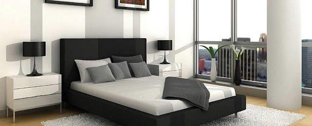 تزئین ساده دیوار بالای تخت خواب با سبک مدرن