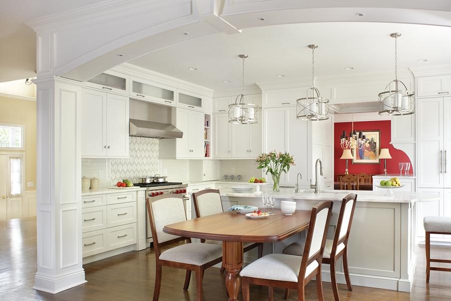 آرک آشپزخانه سفید
