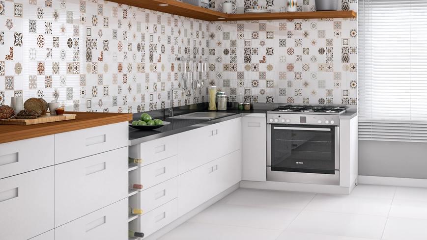 سرامیک آشپزخانه با طرح های متنوع
