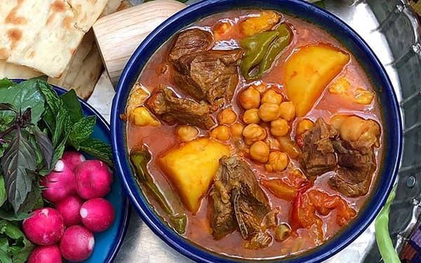 طرز تهیه آبگوشت اصیل و سنتی ایرانی
