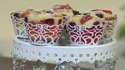 طرز پخت کاپ کیک میوه ای