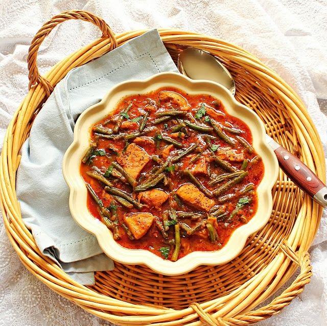 طرز تهیه خورشت لوبیا سبز