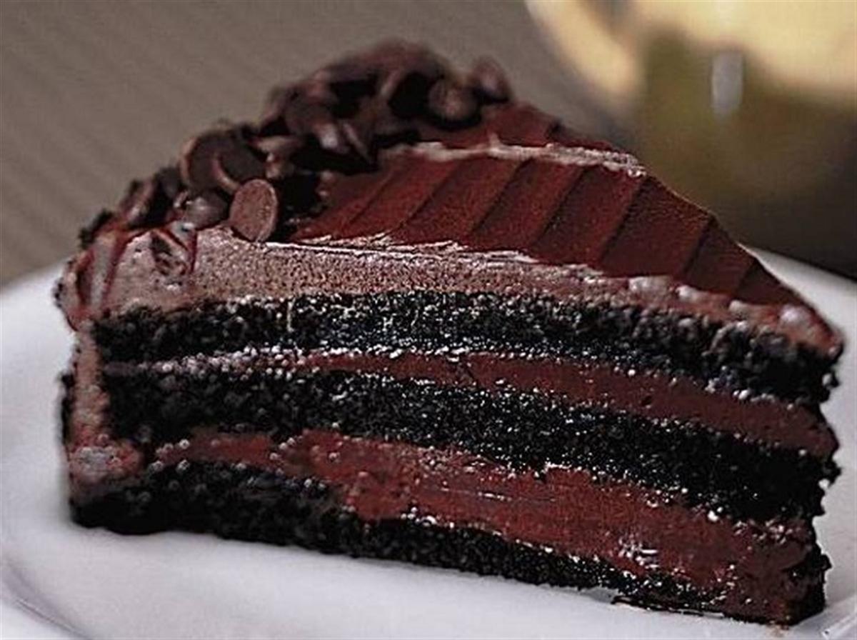 کیک شکلاتی خیس