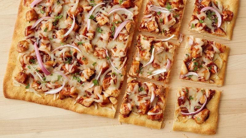 طرز تهیه پیتزا مرغ باربیکیو