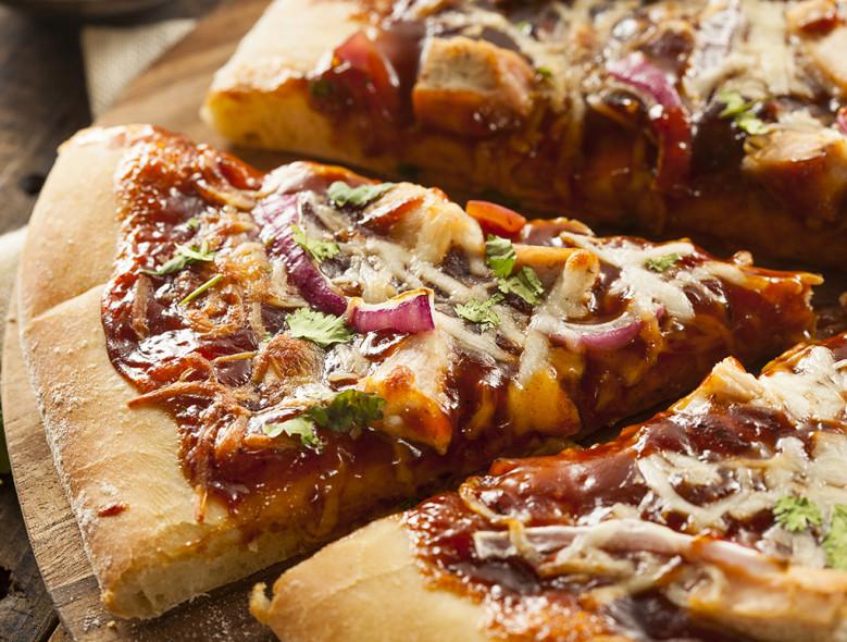 پیتزا مرغ کالیفرنیا