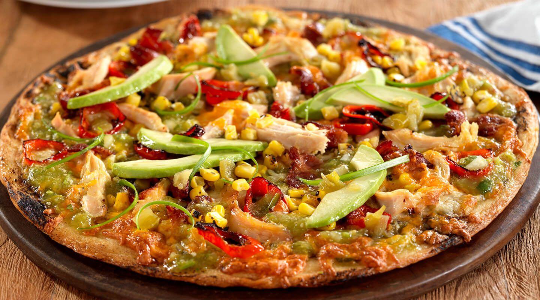 طرز تهیه پیتزا چیکن استروگانف