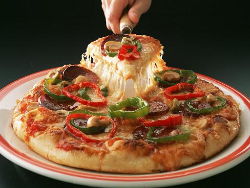 دستور پخت پیتزا چیکن استروگانوف