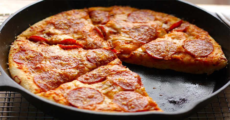 مواد لازم برای تهیه پیتزای بدن فر