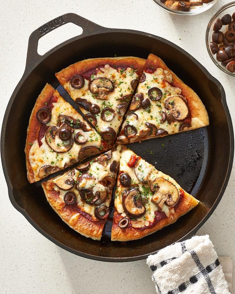دستور پخت پیتزا بدون فر