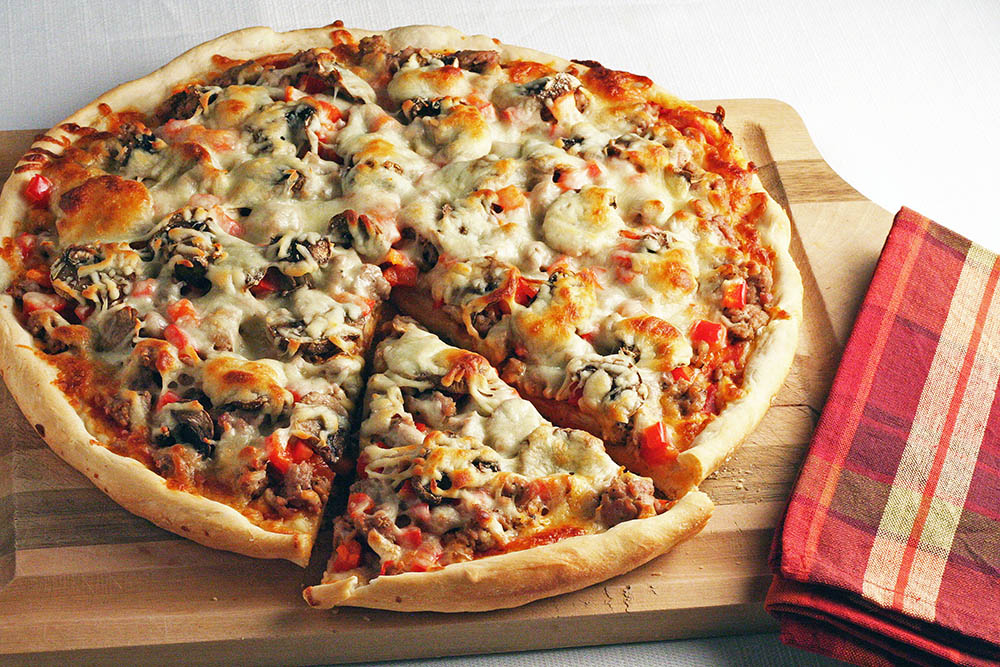 طرز تهیه پیتزا مخصوص