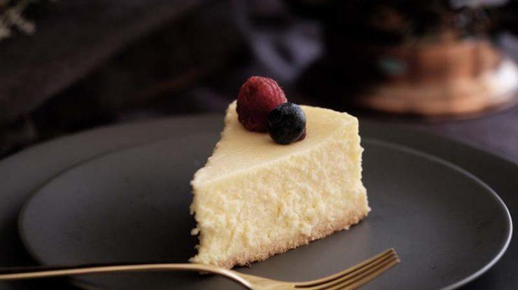 چیز کیک یخچالی نیویورکی