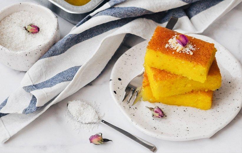 کیک باقلوا خانگی