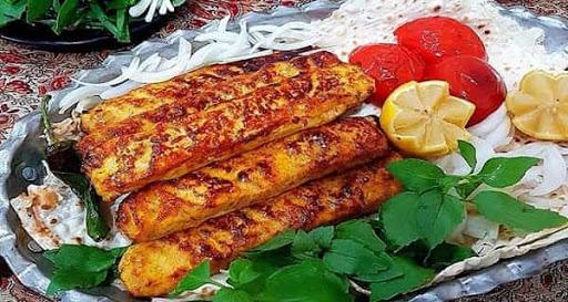 مواد اولیه کباب تابه ای مرغ