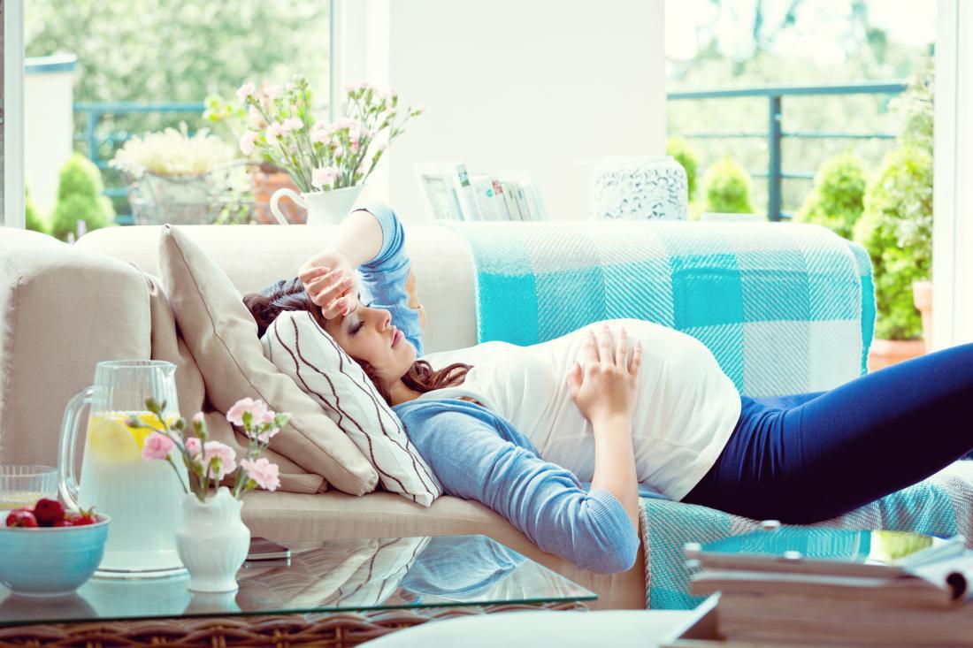 دردهای شکمی و کمر درد در بارداری