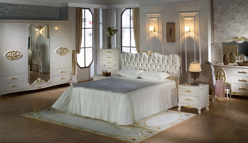 دکوراسیون اتاق خواب با سرویس خواب لمسه کوبی