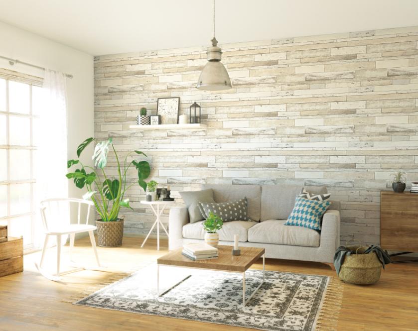 طراحی دکوراسیون منزل با فرش و مبل راحتی