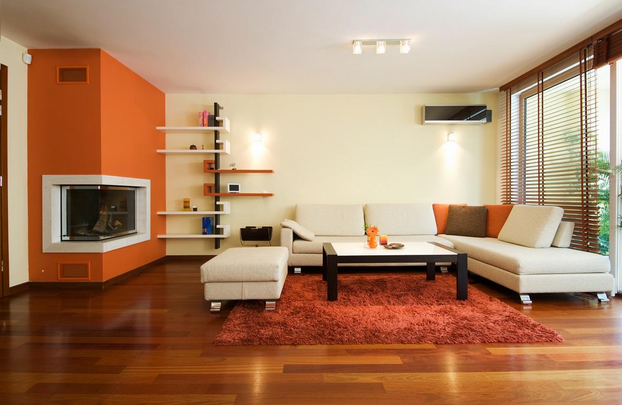 دکوراسیون منزل با فرش های شیک و مبل ال