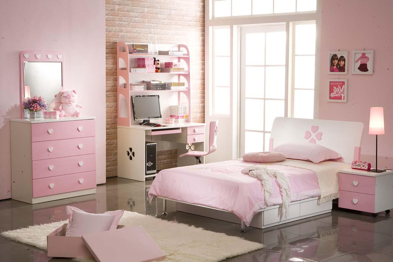 دکوراسیون صورتی اتاق خواب کودکان
