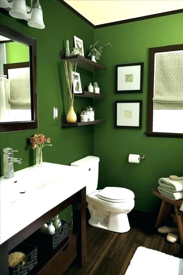 دکوراسیون سرویس بهداشتی با تم سبز