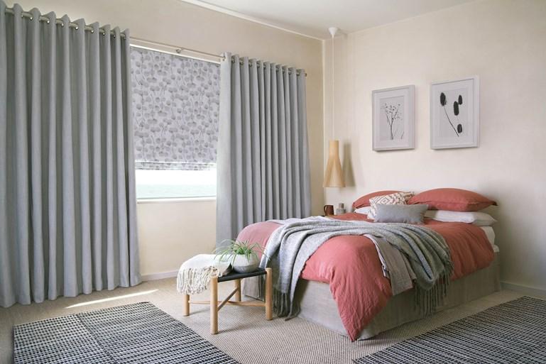 مدل پردهای جدید اتاق خواب دخترانه