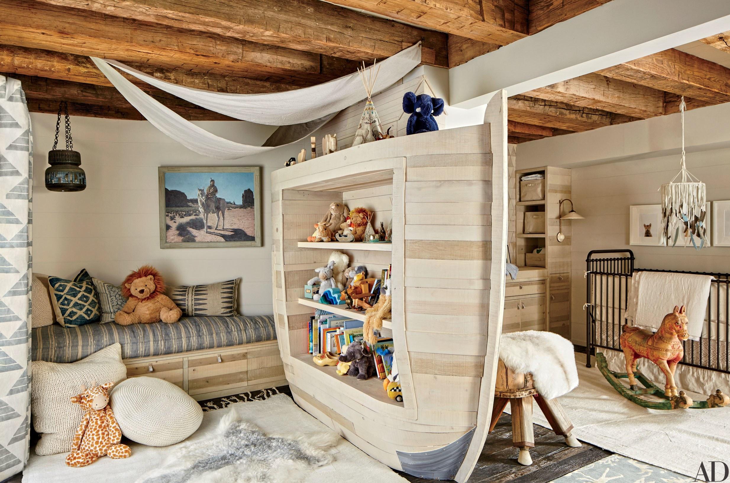 دکوراسیون اتاق کودک چوبی