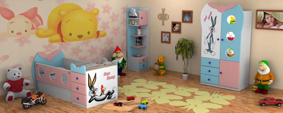 اسباب بازی در دکوراسیون اتاق کودکان