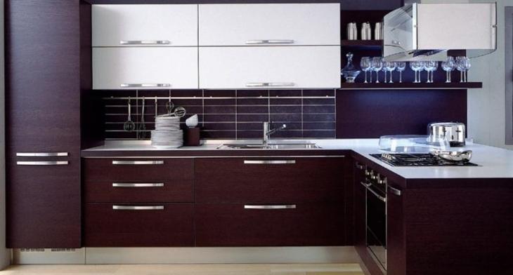 کابینت آشپزخانه چوبی