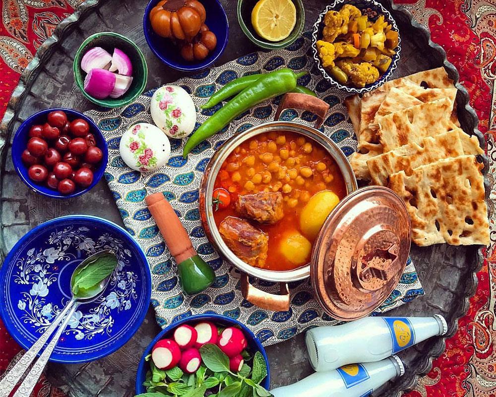 لیست غذاهای سنتی ایرانی