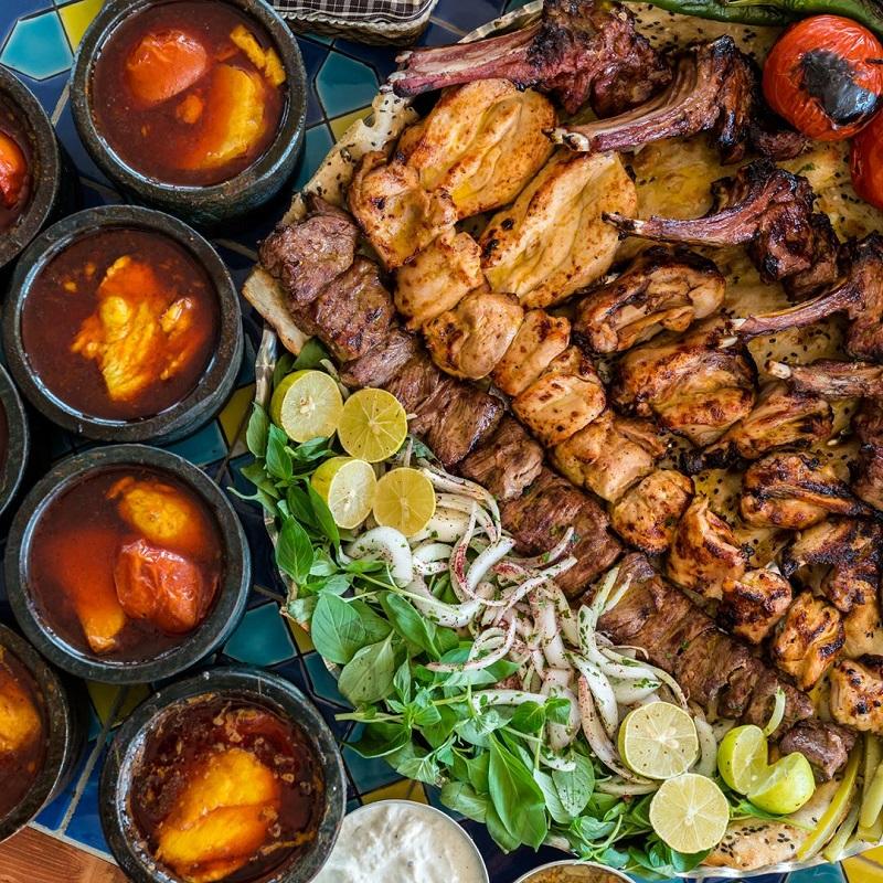 لیست انواع غذاهای سنتی ایران