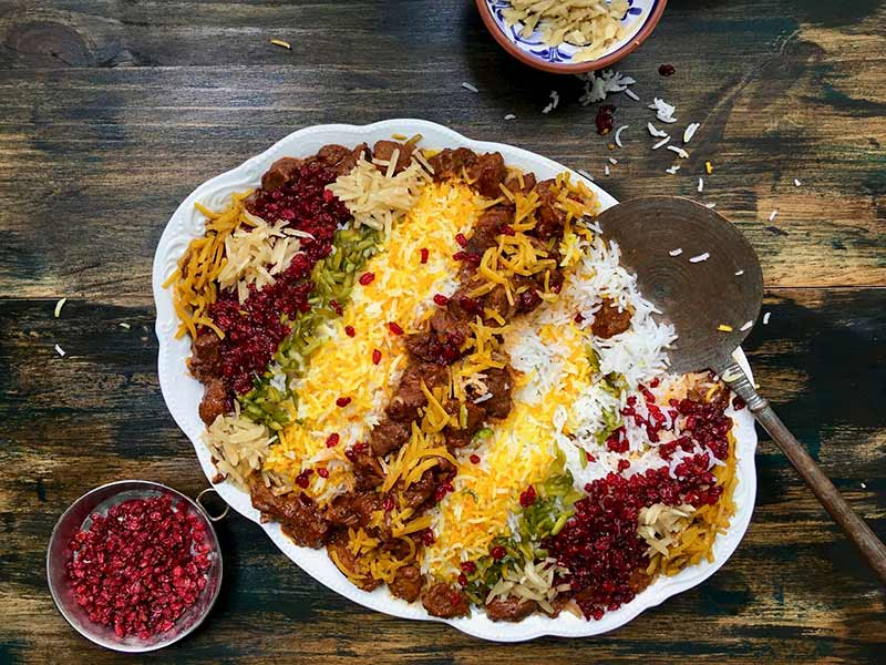 لیست غذای ایرانی