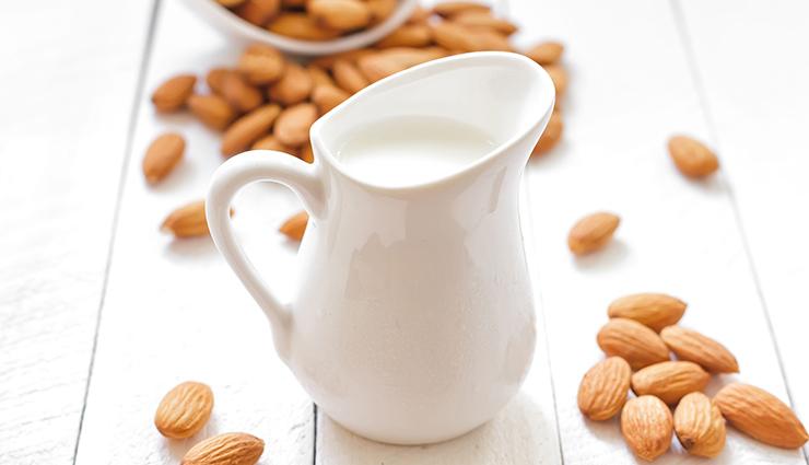 شیر و بادام زمینی